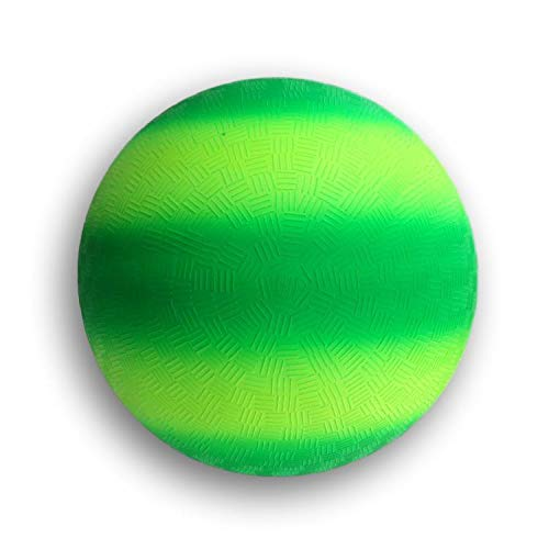 Toys+ 8.5 Inch Playground Balls Green Rainbow Ball! Perfect Size for Kickball, Dodgeball, and Many Other Outdoor Games!!