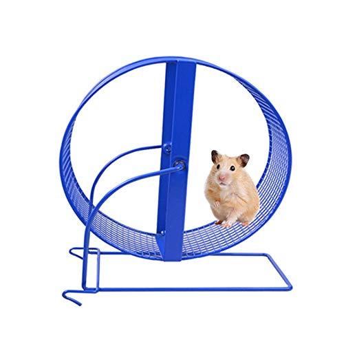 yaunli Rueda de Corriente de Hamster Pet PRODUCTUSHAMSTER Gerbil Juguete DE Rueda para Animales PEQUEÑO Pet Pisco Rueda DE Ejercicio DE Pista Rueda de Corredor de hámster silencioso