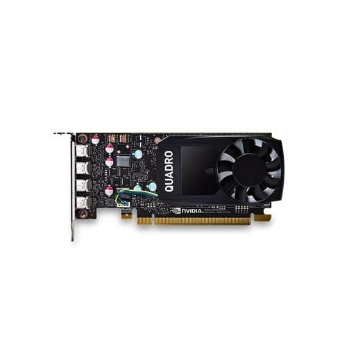NVIDIA Quadro P620 Half Height (Precision SFF) Graphics Card - Quadro P620 2GB GDDR5 - PCIe 3.0 x16 - 4x Mini DisplayPort - for Dell 3430 Small Form Factor, Precision Tower 3420 (SFF)