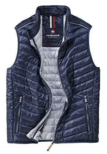 Michaelax-Fashion-Trade Redpoint - Leichte Herren Stepp-Weste, Wade (R790152648000), Größe:4XL, Farbe:Navy (0802)
