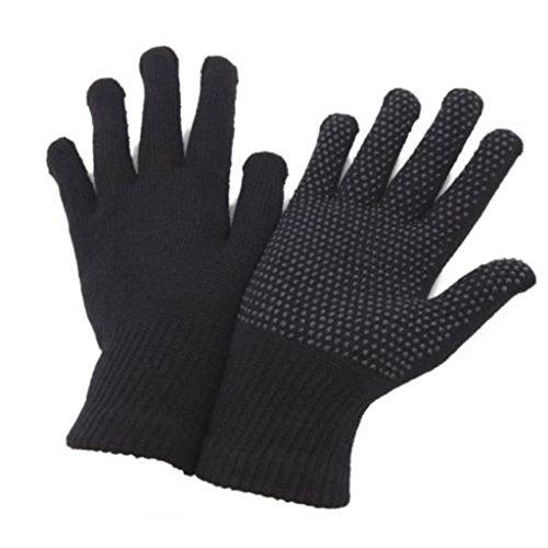 Undercover Erwachsenen Auto-Handschuhe Fingerlos oder mit Fingern mit Gummibeschichtung, 2Paar Gr. Einheitsgröße, Black Full Finger