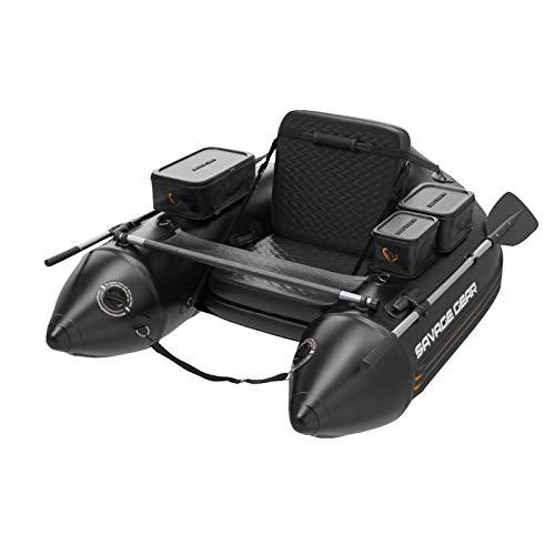 Savage Gear High Rider V2 Belly Boat 170 - Bellyboot zum Raubfischangeln, Angelboot zum Spinnangeln & Fliegenfischen, Boot für Spinnfischer