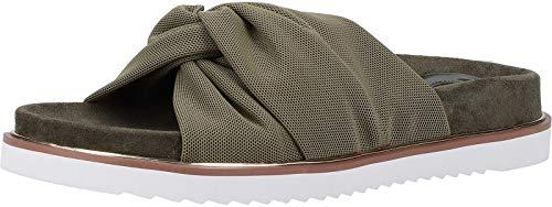 Buffalo 1601077 Damen Pantoletten Khaki, EU 36
