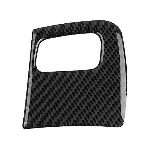 ROSEBEAR Cubierta interior del marco del agujero de la llave del coche de la fibra de carbono ajuste para A-UDI A4/B8/A5/8T/S5 08-15