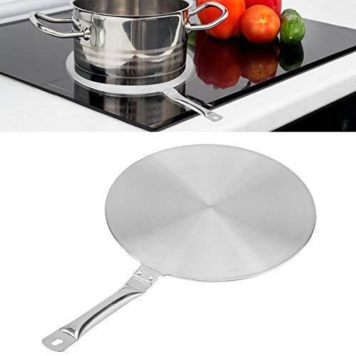 Adaptador de placa de intercambiador de calor de cocina de inducción de acero inoxidable(20cm)