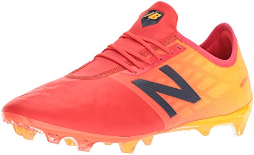 New Balance Men's Furon V4 Pro Firm Ground Soccer Shoe, Flame, 7 2E US