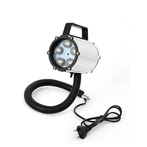 5 W, 110 hasta 220 V, lámpara de máquina magnética, luz de trabajo LED flexible, brazo de luz