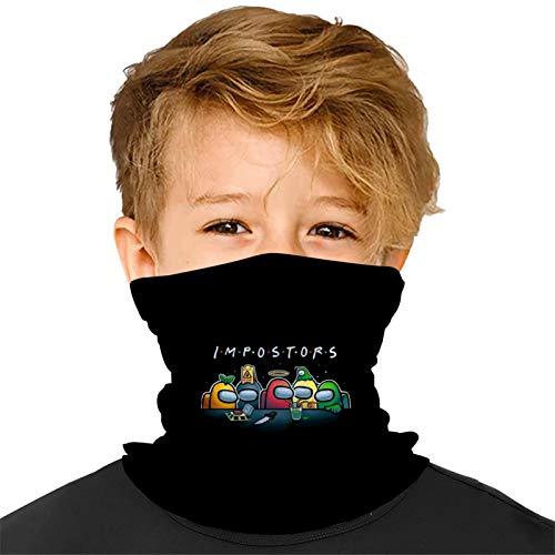989 Kids Neck Gaiters Among 2020 US 7 Face Bandanas Scarfs Anti Dust Mouth Balaclavas Headband for Boys Girls
