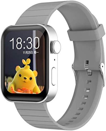 hwbq Reloj inteligente con monitor de actividad y podómetro con monitor de sueño de 1,69, pantalla táctil, resistente al agua, con 8 modos de deporte