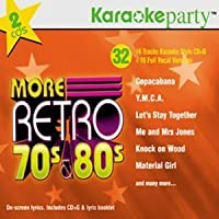 More Retro 70's & 80's by Karaoke Party
