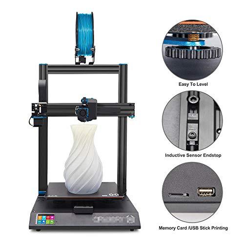 QQKLP 2020 SW más Nuevo X1-X1 Impresora 3D 300X300x400mm Grande más el tamaño de la Alta precisión de Doble Eje Z de Pantalla táctil TFT,110v