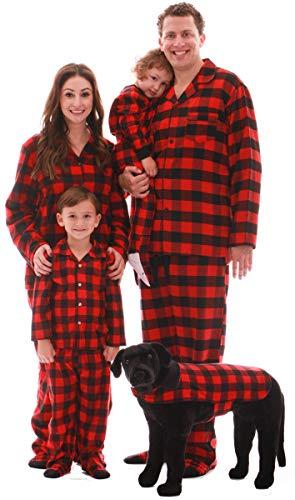 #followme Buffalo Plaid Dog Jacket Clothes for Dogs 6747-10195E-L
