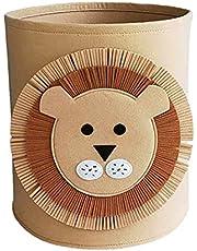 Cute Laundry Basket,Toy Storage Baskets Bin For Kids,Waterproof Foldable Animal Laundry Hamper For Bedroom Nursery Kids Toys