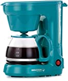 Holstein Housewares HH-0914701E 5-Cup Coffee Maker, Teal