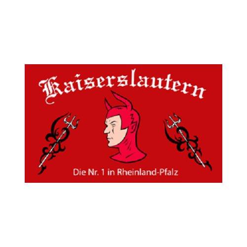 Kaiserslautern - Die Nr.1 aus Rheinland-Pfalz Fahne (F49)