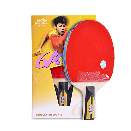 Amazing Deal SSHHI Table Tennis Paddle,5- Layers of Wood, Portable Table Tennis Set,Boys and Girls G...