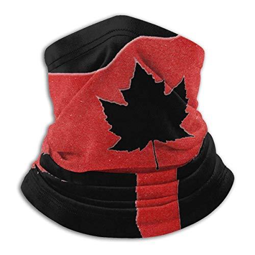 NCH UWDF Happy Canada Day Moose Maple Leaf.Png Bufanda Calentador de cuello Sombrero de microfibra suave Pañuelo facial Cubierta para clima frío Deportes de invierno al aire libre