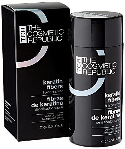 THECOSMETICREPUBLIC - Fibras de Keratina Castaño Oscuro - 25g