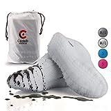 Cedelli®Rainwear | 1 Set L | Überschuhe aus Silikon mit rutschfesten Spezial Noppen | Mehrweg Schuhüberzieher für matschiges und nasses Wetter