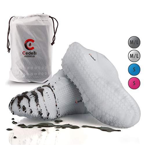 Cedelli Silikon Schuh (Weiß, L)