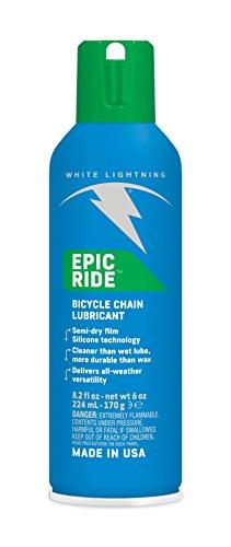 White Lightning Epic Ride Lube Adulte Unisexe, Bleu, 180ml