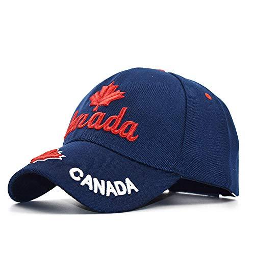 PPSTYLE Gorras Canada Flag Men Angeln Baseball Cap of Canada Hat Herren Snapback Bone Verstellbarer Wonmen Baseball Hat Snapback Hat-2