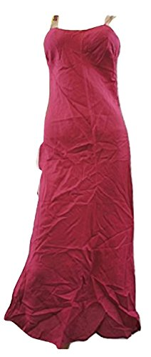 Laura AshleyDamen Kleid, Einfarbig Rosa Cerise Pink