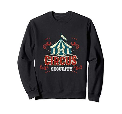 Disfraz de seguridad de circo de regalo Sudadera