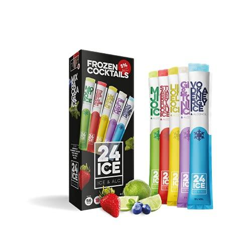 24 ICE Frozen Cocktails - Helados para adultos