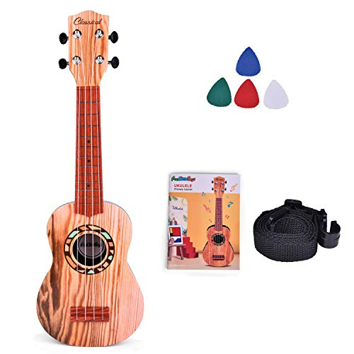 FUN LITTLE TOYS 21 Inch Toy Guitar Ukulele for Kids, Musical...