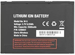 New Replacement Battery for Sierra Wireless W-5 W5 in Non- Retail Packaging   2 Year Limited Warranty