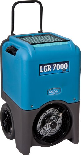 Dri-Eaz-F412 LGR 7000XLi Commercial & Portable Dehumidifier with Pump - Up to 111 L water removal per day,Blue