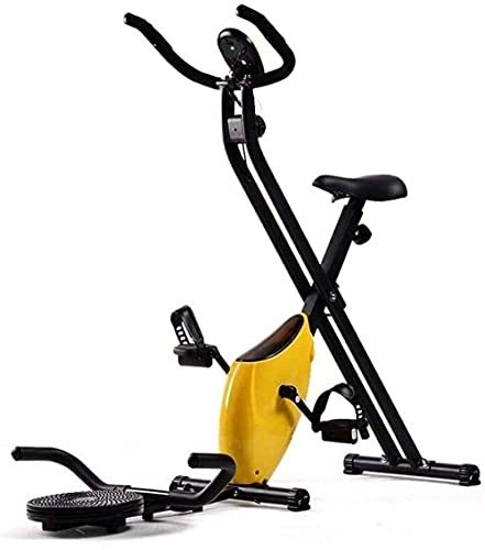 Under The Desk Bike Pedal Exerciser Spin Bike Indoor Bike Attrezzatura sportiva Fitness Bike Resistenza regolabile con monitor LCD Esercizio domestico