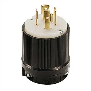 OCSParts L16-20P Grounding Locking Plug, 20A 480V AC, 3 Pole 4 Wire, cUL Listed, NEMA L16-20