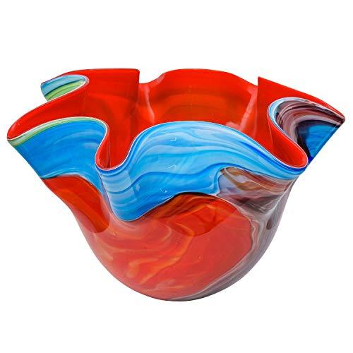 Glasschale Schale Glas im Murano Antik Stil - 24cm