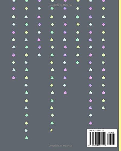 『うんこ ノート Composition Notebook: コンポジションブック Ruled Line Journal ルールド メモ帳』の1枚目の画像