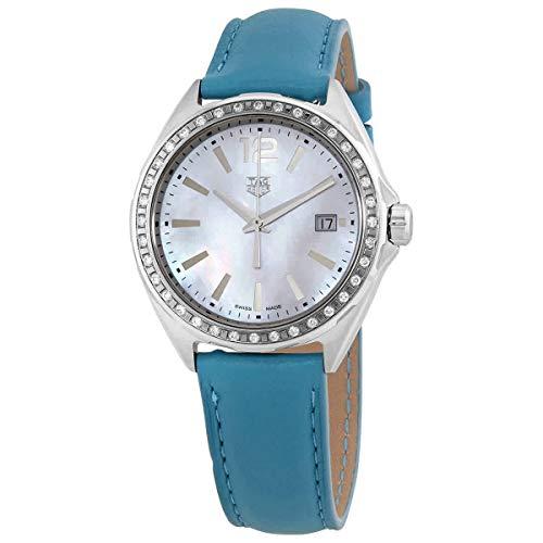 Tag Heuer Formula 1 Mujeres Diamante 35mm Reloj Azul Turquesa
