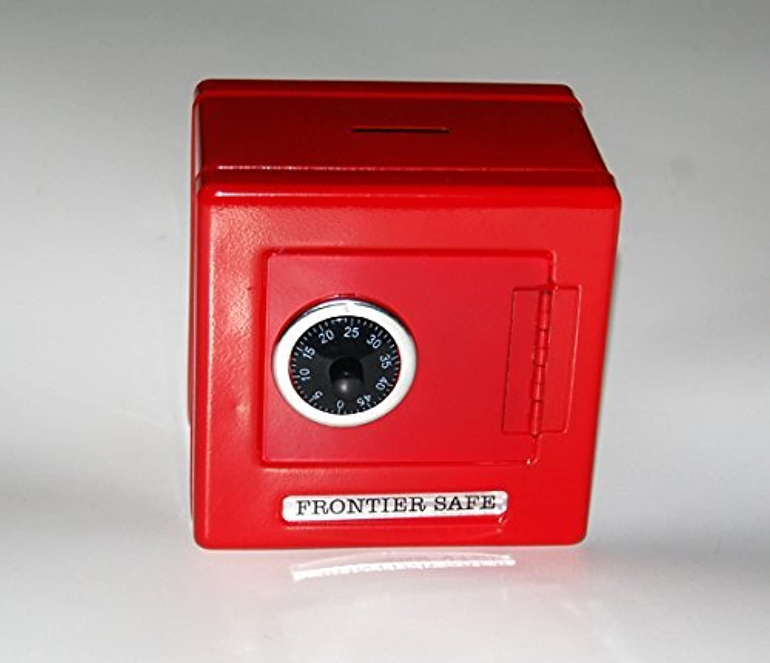 Frontier Combination Metal Coin Safe (RED) [Toy]