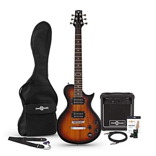 Guitarra Electrica New Jersey II 3/4 + Paquete de Amplificador de ...