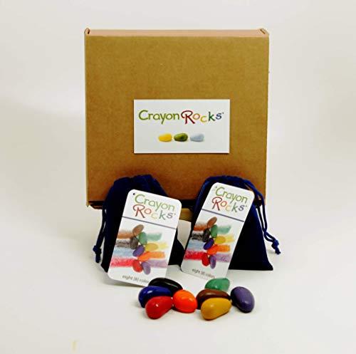 Crayon Rocks 8 Colors (Blue Velvet - 2 pack)