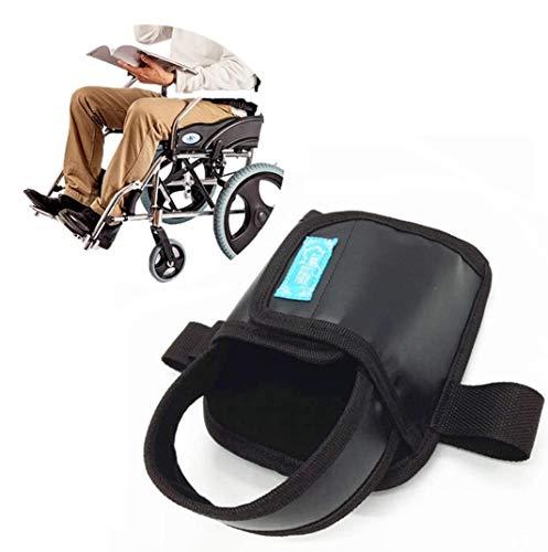 AFGBB Zapatos de Silla de Ruedas de nolips de restricción, Zapatos de Silla de Ruedas de Seguridad Accesorios para sillas de Ruedas para parálisis, Parkinson, Piernas espasmos