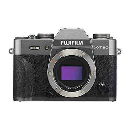Fujifilm X-T30 Mirrorless Digital Camera, Charcoal Silver (Body Only)