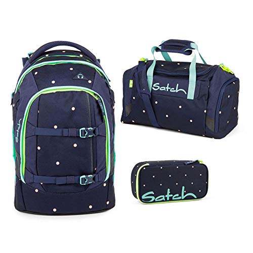 Satch Pack Pretty Confetti Schulrucksack Set 3tlg.