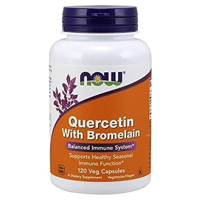 Now Foods Quercetin with Bromelain, Veg-Capsules,
