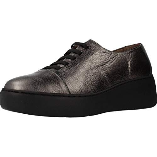 Wonders Zapatos Mujer A8338 para Mujer Metálico 36 EU