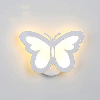 comprar comparacion LEDMOMO Lámpara de pared moderna del LED, iluminación creativa de la pared de la mariposa 12W para el blanco caliente de l...