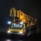 Gettesy Juego de iluminación LED para grúa de carga pesada portátil Lego Technic 42009, iluminación LED compatible con Lego 42009 (no incluye el modelo)
