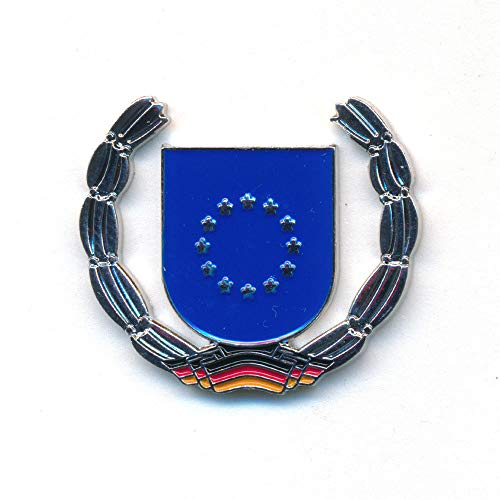 hegibaer Europa Wappen EU Flagge Flag Emblem Metall Badge Edel Pin Anstecker 0915