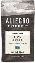 Allegro Coffee Kenya Grand Cru Whole Bean Coffee, 12 oz