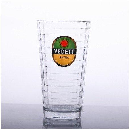 Vedett 20oz Beer Glass (Set Of 2)
